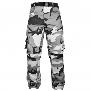 Calça de Cordura Impermeável STREET FIGHTER - Racing Rabbit - Código RR-CAL-SF-CAMU